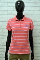 Polo LONSDALE Donna Taglia S Maglia Maglietta Camicia Shirt Woman Cotone a Righe