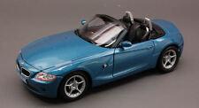 Bmw Z 4 2002 Blue 1:24 Model 9259 WELLY