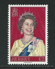 JERSEY # 155 QUEEN ELIZABETH II BRITISH MONARCH