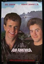AIR AMERICA * CineMasterpieces 1SH ORIGINAL MOVIE POSTER 1990 MEL GIBSON NM