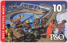 Maritime Satellite phonecard - P&O Cruises Crew Card
