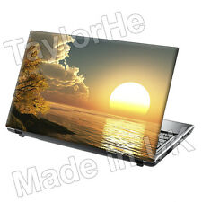 "17 ""Laptop SKIN Cover Adesivo Decalcomania SUNRISE OCEAN 132"