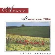 Adagio: Music for Yoga by Peter Davison (CD, Mar-2000, Living Arts) cd SEALED