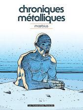MOEBIUS JEAN GIRAUD METALIC CHRONICLES RARE ARTBOOK HARDCOVER HC SKETCHBOOK Comic Art