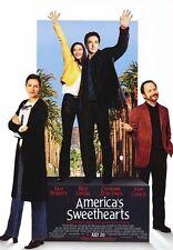 AMERICA'S SWEETHEARTS MOVIE POSTER ~ ORIGINAL 27x40 Julia Roberts John Cusack