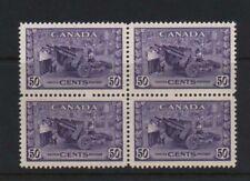 Canada #261 XF/NH Block