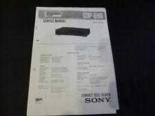 Service Manual Sony CDP-690