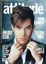 (UK) ATTITUDE MAGAZINE NOVEMBER 2015 ADAM LAMBERT SPECIAL ISSUE PHOTO COVER