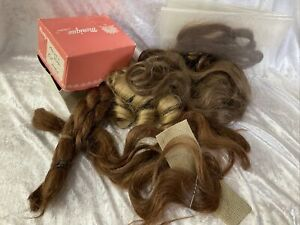 (i6) Dolls Brown Hair Pieces Including Monique