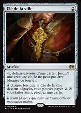 MTG Magic KLD FOIL - Key to the City/Clé de la ville, French/VF