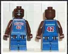 NBA Jerry Stackhouse, Detroit Pistons #42 Lego mini figure