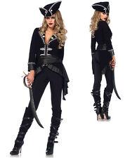 Womens Seven Seas Beauty Pirate Costume size Medium 6-8