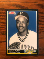 1991 Score #868 Barry Bonds Baseball Card Pittsburgh Pirates The Franchise Raw