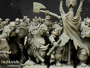 Grave Guard 'The Blackwatch' Command Group