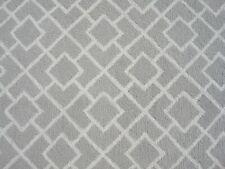 Garden Gride Silver Color Hand Tufted Modern Style Woolen Area Rug