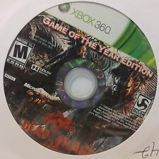 Dead Island - Game of the Year Edition (Microsoft Xbox 360) DISC ONLY #9163