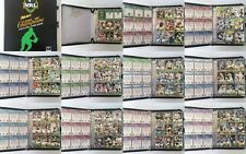 2009 NRL Rugby League Collector Card Album 1-108, 127-195, Missing 18 Cards