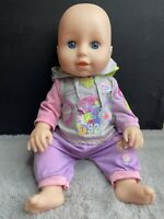 """Zapf Creation Baby Annabell Learns To Swim 2017 Doll 16"""" Talking (Working)"""