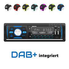 DAB+ Autoradio RDS AM FM Bluetooth Freisprecheinrichtung 2 USB SD AUX IN 1 DIN