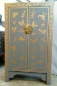 John Lewis Chinese Butterfly Cabinet Cupboard