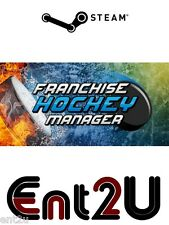 Franchise Hockey Manager 2014 Steam Key - for PC or Mac (Same Day Dispatch)
