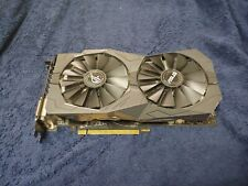(for parts) ASUS ROG Strix Radeon RX 570 4GB Overclocked Dual-Fan Graphics Card