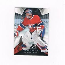 CAREY PRICE 2008-09 Upper Deck UD Trilogy #12  Montreal Canadiens