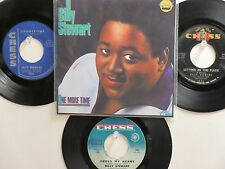 LOT OF 4 ' BILLY STEWART ' HIT 45's+1P(Copy)[I Do Love You]      THE 60's!