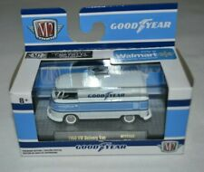 2019 M2 MACHINES GOODYEAR 1960 VW DELIVERY VAN WHITE WMTS09