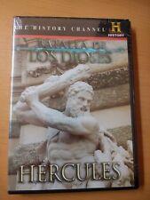 CLASH OF THE GODS: HERCULES DVD HISTORY CHANNEL Batalla de los Dioses REGION 1&4
