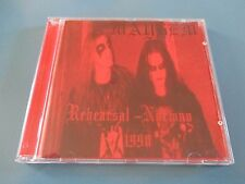 MAYHEM - REHEARSAL NORWAY 1990 Rare DVD Import Dead Morbid Darkthrone Aborym