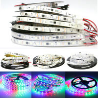WS2811 5050 RGB LED Strip 1M 5M 150 300Leds Addressable DC12V IP60 IP65 IP67