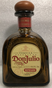 Don Julio Tequila Bottle 750 ML empty with corks  Great DIY.