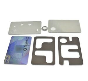 Credit Card size Magnetic Metal Pipe fits your wallet
