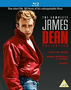 The Complete JAMES DEAN Collection 3 Movie Blu-Ray Set BRAND NEW Free Shipping