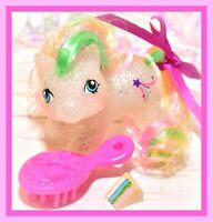 ❤️My Little Pony MLP Vtg G1 Style HQG1C Baby Glitter Wishes Sparkle Custom❤️