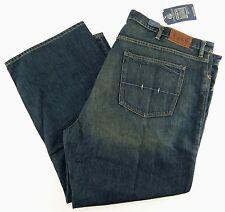 Polo Ralph Lauren Mens Jeans Classic 867 Blue Warren Wash Size 54 x 32 Big Tall
