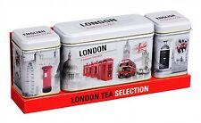 London Big Ben Tea Tin Money Box Traditional English Breakfast Tea HR17