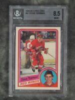 BGS 8.5 Steve Yzerman Rookie 1984-85 OPC O-Pee-Chee #67 Detroit Red Wings RC