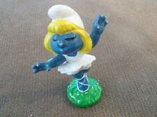 Vintage Smurfs Peyo PVC Figure ~ Ballerina Smurfette ~1978 Schleich