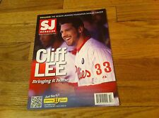 SJ MAGAZINE Cliff Lee PHILLIES PHILADELPHIA EAGLES Sue Duffield MOORESTOWN more
