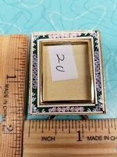 Italian Micro Mosaic Picture Frame Filippini and Paoletti rectangle style#20