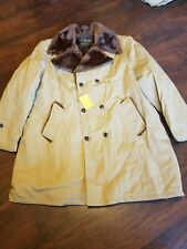 True vintage Cal CRAFT size 50 lined coat California manufacturing co.