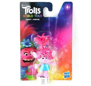 "Poppy Trolls World Tour Action Figure 3"""