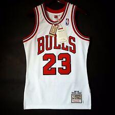 100% Authentic Michael Jordan Mitchell Ness 97 98 Bulls Home Jersey Size 36 S