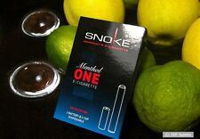 Snoke E-Zigar. ONE Set Menthol ohne Nikotin: 1 x Akku, Battery + 1x CAP, NEU