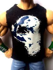 """MATTEL WWE T SHIRT ACCESSORY FOR 6"""" inch FIGURES RARE! CHRISTIAN PEEEEEEEEEEEPS!"""