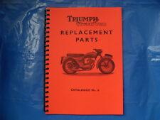 TRIUMPH TIGER CUB  PARTS BOOK  No6  FOR T20,T20C,T20S, 1959  MODELS
