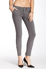 NWT Lucky Brand Womens Charlie Utility Skinny Jeans Size 00 24 Pants Grey Ash