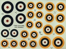 NEW 1:72 Modeldecal 102 RAF WWII Roundels. Large Type A & Type A1
